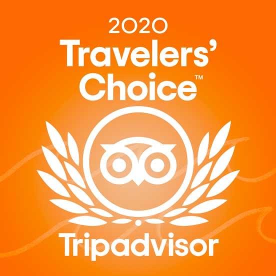 Trip Advisor award winner
